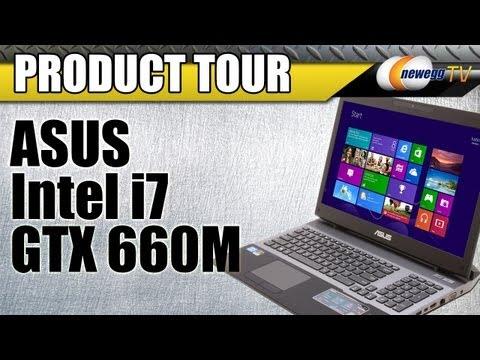 Newegg TV: ASUS Intel Core i7 NVIDIA GeForce GTX 660M Notebook Product Tour