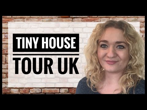 Tiny House Tour UK - 410 square foot 2 bedroom house in the Cotswolds, England