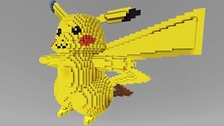 Minecraft vs Pokemon go | GIGA PIKACHU!! | (PvZ/Pokego Land)