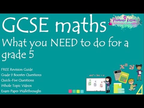 What you NEED to do to get a grade 5 in your GCSE 9-1 Maths.