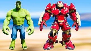 GTA 5 - Ironman Hulkbuster Vs Hulk