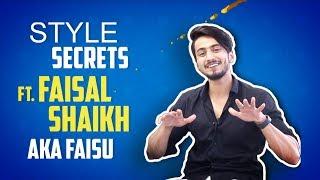Faisal Shaikh Aka Faisu Shares His Style Secrets | Tik Tok
