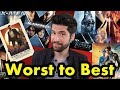 X Men Movies Ranked From WORST To BEST