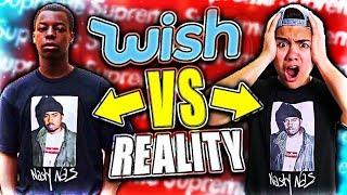 WISH APP EXPECTATIONS VS REALITY (HYPEBEAST EDITION)
