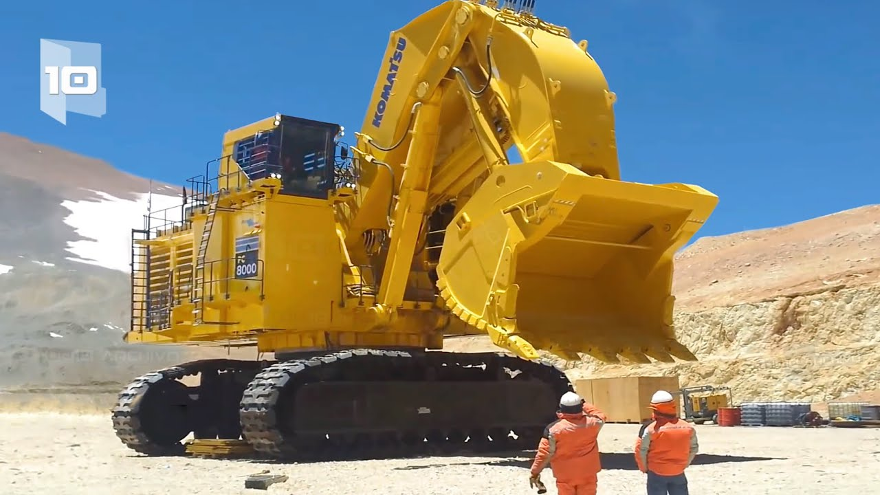 10 Biggest and most Powerful Excavators in the World