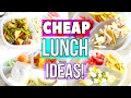 CHEAP, EASY +(kinda)  HEALTHY LUNCH IDEAS!! KID and HUSBAND APPROVED!  Sensational Finds