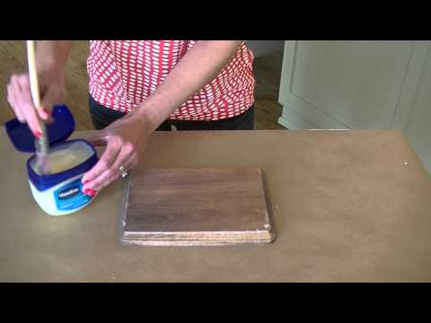 Episode 7 | Tutorial for using vaseline to distress furniture