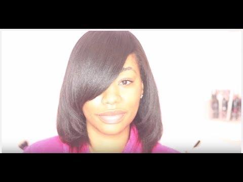 How to Silk Press Natural Hair | how to silk press natural hair at home