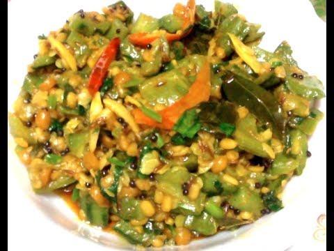 Easy Ridge gourd Curry--Simply Beerakaya Popu-Turai