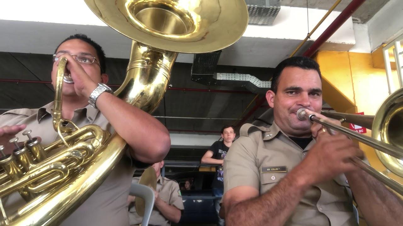 Dobrado Cisne Branco - Canção da Marinha do Brasil - Sd. Freitas (Tuba Bb) e Sd. Célio (Trombone)