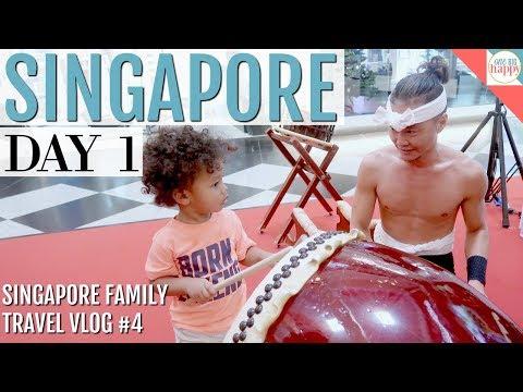 Singapore Flyer + Pan Pacific Hotel Room Tour - Singapore Family Travel Vlog #4