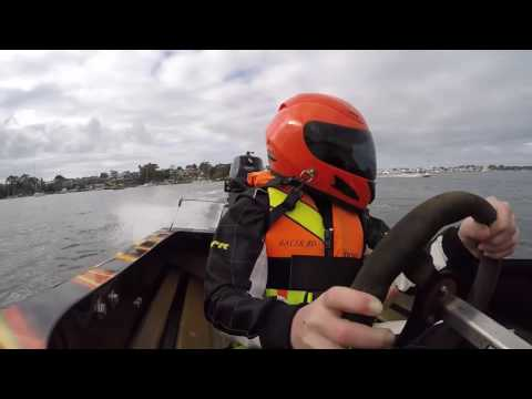 Junior race boat St George NSW Tittles