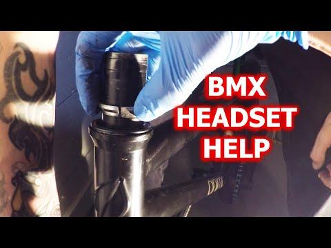 Fixing a BMX Headset (Integrated)