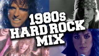1980s Hard Rock Music Mix 🤘 Best Hard Rock Songs of the 80s