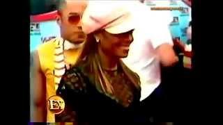 Janet Jackson Hyper Sexy En Robe Noire En Strass Et Resille