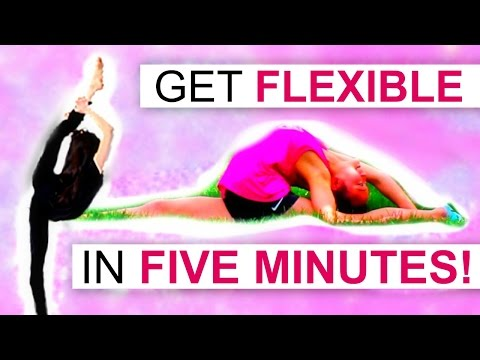 How to get FLEXIBLE in 5 MINUTES!