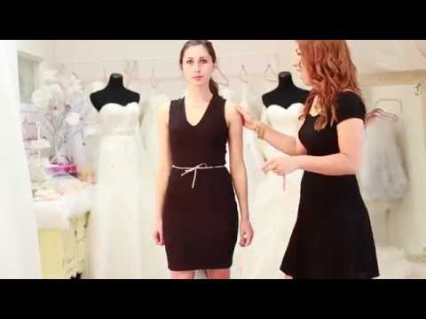 How to take measurements for your dress
