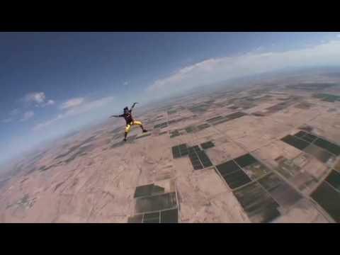 Nasser AlNeyadi Skydive Dubai