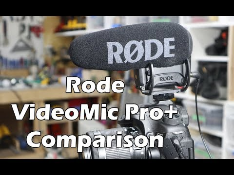 Rode VideoMic Pro+ Review and Testing