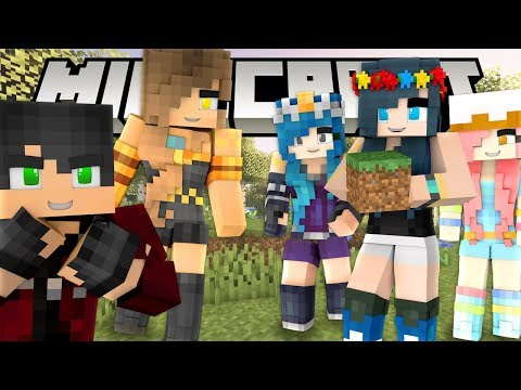 Xxx Mp4 Who Will Survive Our FIRST Night In Minecraft Survival 3gp Sex