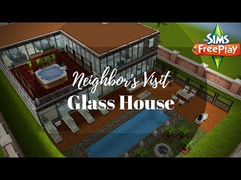 Glass House by Maria | Sims FreePlay