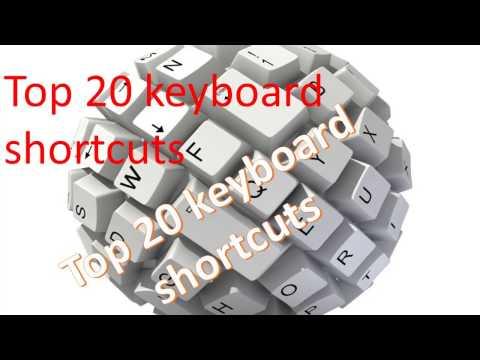 Top 20 Computer keyboard shortcut | Best Keyboard Shortcut