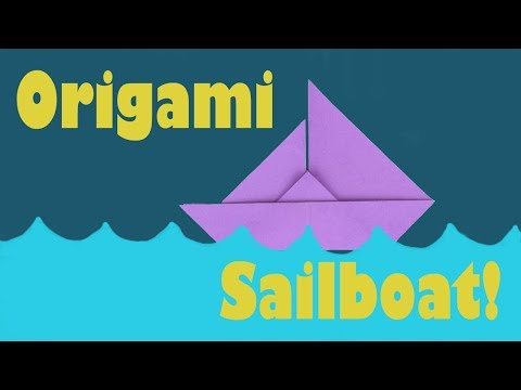 How to Fold an Origami Sailboat | Traditional