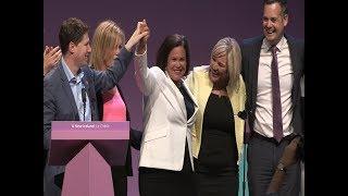 Mary Lou McDonald Presidential address to the 2018 Sinn Féin Ard Fheis