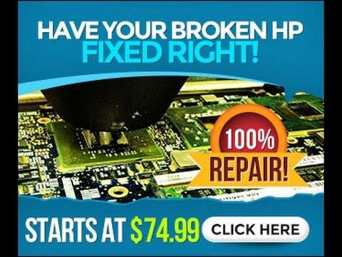hp laptop repair cost