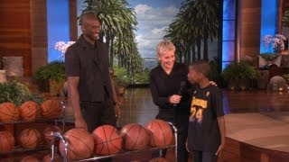Kobe Meets a Young Fan