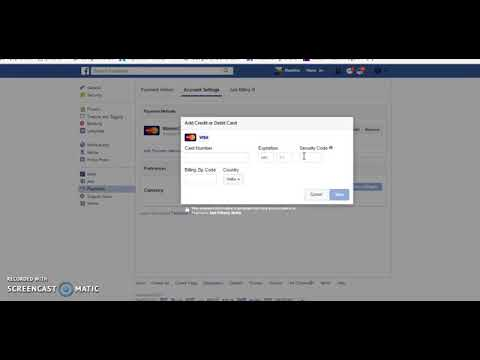 How To Add Payment Method on Facebook To Run Ads