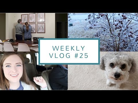 How We Run Our Etsy Shop + Home Improvement Projects  | Weekly Vlog #25 | February 21-27, 2018