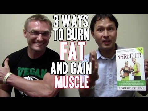 Best 3 Ways to Burn Fat and Build Muscle without Supplements