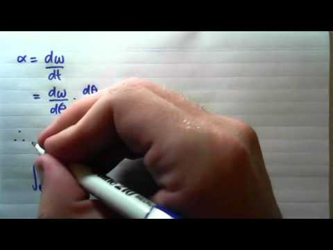 1.1.2 Derivation of Angular/Linear Velocity Equations of Motion