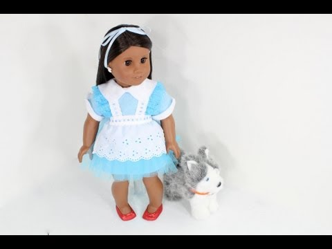 How to Make a Doll Costume: Rag Doll, Alice in Wonderland, Dorothy From the Wizard of Oz
