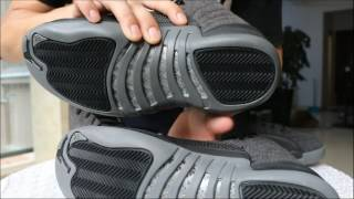 best sneakers 94f53 f2c5f Air Jordan 12 Blue Suede/Chanel Real vs Fake | Daikhlo