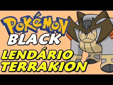 Pokémon Black (Detonado - Parte 26) - Lendário Terrakion