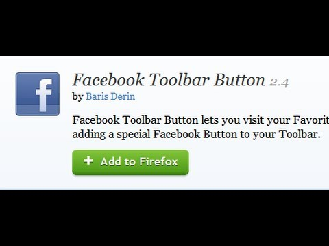 How To Install The Facebook Toolbar On Firefox