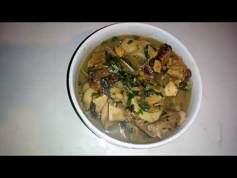 How To Cook White Soup (Ofe Nsala Igbo Version)