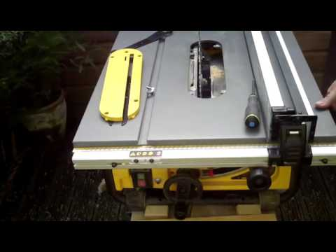How to remove the riving knife on a Dewalt DW745 table saw [re-upload due to channel migration]