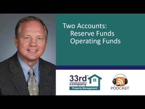 How a HOA Board Should Use Reserve Funds –  HOA/CIC Property Management Education