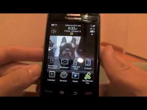 Blackberry Storm 2 (9550) OS 5.0.0.287