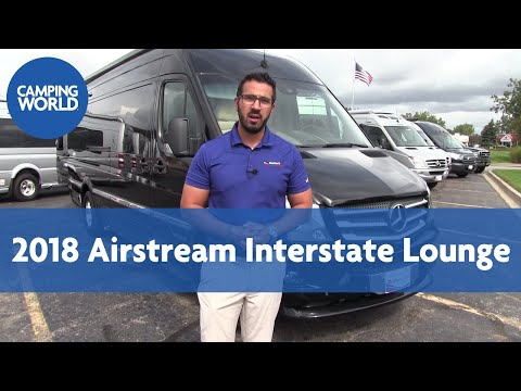 2018 Airstream Interstate Lounge | Tommy Bahama / Black | Class B - RV Review