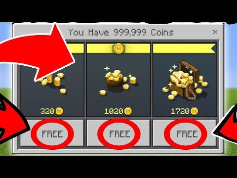 ✔️HOW TO GET UNLIMITED COINS FOR MCPE!!!