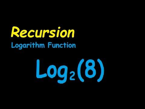 Recursive Logarithm In C