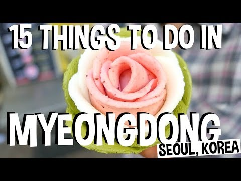 😍15 Best Things to Do in Myeongdong Street [명동길거리] Seoul, South Korea Travel Guide