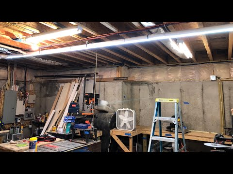 Simple Shop LED Addition - How to