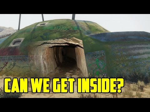 CAN WE GET INSIDE THE ALIEN CAMP FROM GTA 5?