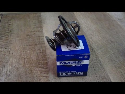 How to replace thermostat on a 2012 V6 Chevrolet Silverado