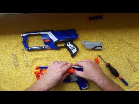 Simple Nerf Strongarm modification